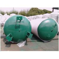 China 7560 Gallon Ingersoll Rand Air Compressor Storage Tank With Inspection Hole wholesale