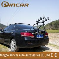 China Car Removable Rear Bike Carrier Universal Car Trailer Black 35KG wholesale