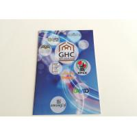 China Horse Riding Paper User Manual, Offset C2s Paper Folded Leaflet Printing / Advertisment Brochure wholesale