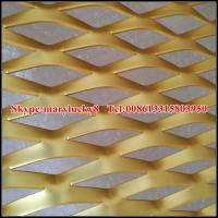 China decorative aluminum sheet for expanded metal mesh wholesale