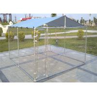 China 4' x 6' x 6' /1.2m x 1.8m x 1.8 m outdoor chain link wire dog kennel DIY on sale