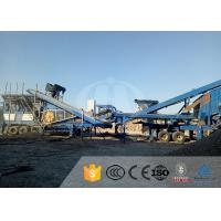 China Automatic Aggregate Stone Crushing Equipment / Mobile Cone Crusher For Quarry on sale