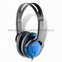 China Noise-canceling Headphones with Flexible Frame and 100mW Rated Power, Comfortable to Use on sale