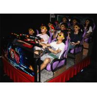 Quality Hydraulic 7D Cinema System , 9 Individual Motion Chair with Special Effects for sale