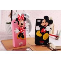 China Hot selling Silicone Mickey & Minnie mobile phone case cover for Disney wholesale