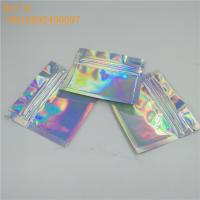 Quality Glossy Plastic Holographic Foil Pouch Packaging for sale