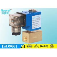 China 12MPA 120 Bar 1740psi High Pressure Solenoid Valve Direct Acting 9.0mm Orifice on sale