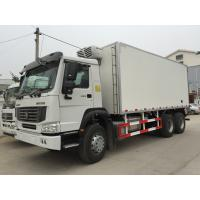 China Refrigerated Box Truck With Euro III , Refrigerated Delivery Truck 6X4 wholesale