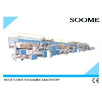 China 3 / 5 /7 Ply Corrugated Cardboard Production Line , Sheet Board Making Machines wholesale