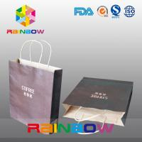 China Printed Customized Paper Bags Gift Packaging Brown Shopping Kraft Paper Bag For Clothes wholesale