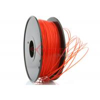 China 3D Printer 3mm PLA Filament Red  High Stiffness 1kg Spool wholesale