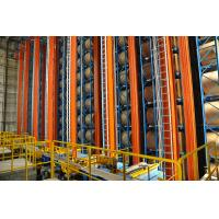 China Automatic Storage And Retrieval Pallet Racking Warehouse Automated ASRS System wholesale