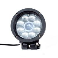 China Black Color Spot / Flood Beam LED Vehicle Work Light with 5.5 Inch 45w 12v High Intensity CREE Chips on sale