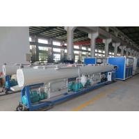 China ISO Approval PPR Pipe Extrusion Line 104 - 150KW Input Power High Output wholesale