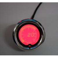 China Racing Exhaust Gas Temp Universal Auto Gauges With 60mm 7 Color Stepper Motor wholesale