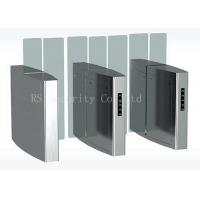 China Outdoor Turnstile Speed Gates, Full Height Glass Barrier Security Gate on sale