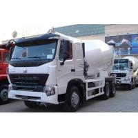 China Stable Concrete Transport Truck 371hp With Lengthen Cabin / 9m³ Cubage wholesale