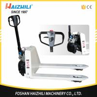 Extraordinary factory new type semi electric pallet truck 2 ton with cheap price