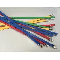 China Self - Lock PVC Coated Stainless Steel Cable Ties Solar Mounting Accessories Kit wholesale