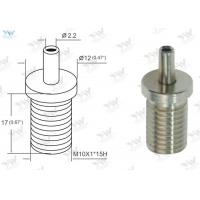 China Bottom Cable Exit Adjustable Wire Gripper Nickel Finishing With M 10 Male Thread wholesale