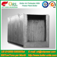 China Natural Gas Industry 10 Ton Ponderance 150 MW APH Heating Boiler Air Preheater wholesale