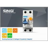 China 50 / 60Hz IP20 20A Residual current circuit breaker with overcurrent protection wholesale