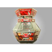 China Entertainment Venues Coin Pusher Machine 6 Players With Wooden Board wholesale