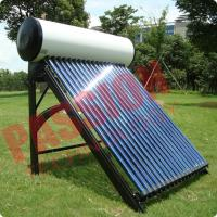China Indirect Loop Solar Power Hot Water System , Roof Mounted Solar Water Heater Pipes on sale