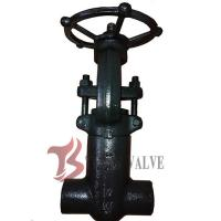 China 900LB Forged Steel Valves Pressure Seal Bonnet PSB Solid Wedge Full Bore on sale