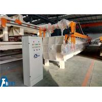 China High Pressure Recessed Chamber Filter Press Equipment With Cloths Washing Device wholesale