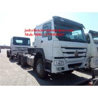 China SINOTRUK HOWO 6x4 tractor truck 371 HP trailer head, HOWO loading 40t prime mover truck, Euro 2 wholesale