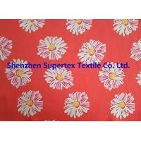 China Comfortable Handfeel Sateen Custom Cotton Fabric With Pink Flowers Soft Cotton Fabric wholesale