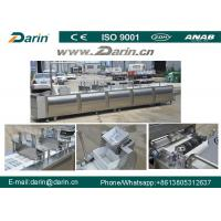 China Healthy Nutritional Vegetarian Cereal Bar Making Machine with Siemens PLC & Touch Screen wholesale