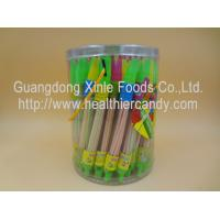 China Whistle Pen Sweet Sour CC Sticks Candy With Red / White / Pink Colour wholesale