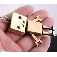 Quality Robot  Metal keychain for sale
