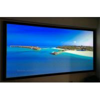 Buy cheap Wall Mount Fixed Frame Projection Screen HD Aluminum Frame For Home Cinema from wholesalers