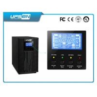 Quality True Online Double Conversion UPS with Pure Sine Wave and LCD Display 1Kva - for sale