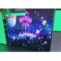 Buy cheap High Resolution Interior SMD LED Screen iron cabinet  P4 indoor fixing usage 3 years warranty from wholesalers