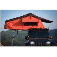 China Overland Outside Camping 4x4 Roof Top Tent With Aluminum Telescopic Ladder wholesale