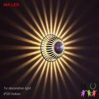 China Pure aluminum 6W indoor modern LED wall light for corridor and for living room wholesale