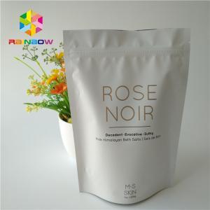 China Coffee Scrub Packaging Stand Up Bags Ziplock Aluminum Foil Body Bath Salt Pack wholesale