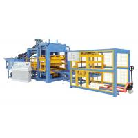 China Full Automatic Concrete Block Making Machine With PLC System Electricity Motor wholesale
