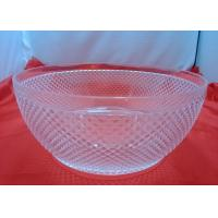 Quality Customized Food-grade 100%  Clear Acrylic Bowl For Fruit Salad for sale