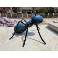 China Stainless Steel Metal Animal Sculptures Decorative Metal Animals Chemical Do Color wholesale