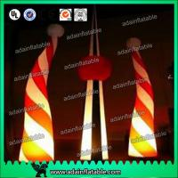 China Inflatable Candy,Custom Durable Advertising Inflatable Candy Cane For Christmas Holiday wholesale