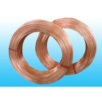 Quality Welded Refrigeration Copper Tube / Bundy Pipe For Compressor 6 * 0.5 mm for sale