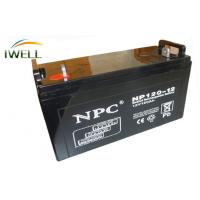 China Maintenance Free Rechargeable Deep Cycle Batteries 12V 120Ah For UPS wholesale