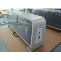 China Outdoor Bright Taxi Top LED Display Roof Signs For Cars With Double Side Screen wholesale