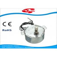 China 1.5RPM Home Ac Electric Motor , Silver Color Synchronous Ac Motor 49TYD Low Noise wholesale
