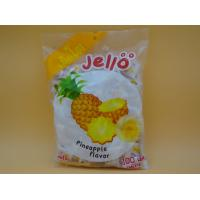 China Pineapple Flavor Original Fresh Chewy Milk Candy With Fruit Jelly Red Color wholesale